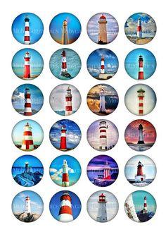 Images imprimables cercle de phares pour capsules de bouteilles, Scrapbooking, pendentifs, boutons de manchette, pendentifs de verre. ■ Vous recevrez ces Images de cercle en 20 mm, 25 mm, 1 pouce et 1,5 pouce, chaque taille sur une feuille de collage distincts. ■ Collage feuille de format 8,5 x 11» - format A4 haute qualité 300 dpi JPG Ces feuilles de collage sont prêtes pour l'impression, vous pouvez les imprimer autant de fois que vous avez besoin. ◆ ◆ le téléchargement immédiat Après ...