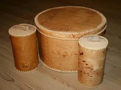 Birch bark container, Germany