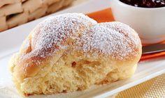 Receita de Pãozinho de mandioquinha e leite condensado - Pão - Dificuldade: Fácil - Calorias: 390 por porção