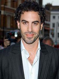 sacha Baron Cohen - what can I say?  he's Borat!