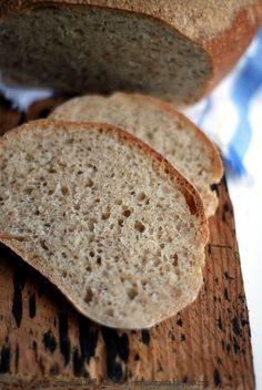 Ten chleb nie wymaga wiele, wymaga nastawienia zaczynu a potem tego, aby podejść do niego dwukrotnie, na dwie minuty. Nie wymaga perfe... How To Make Bread, Food To Make, Bread Recipes, Cooking Recipes, Polish Recipes, Bread Rolls, Holiday Desserts, Bread Baking, Truffles