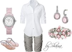 casual feminine, created by shauna-rogers on Polyvore