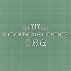 www.ruyatabirleriniz.org