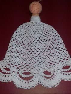 Do it Yourself - Her Crochet Vintage Crochet Patterns, Crochet Stitches Patterns, Crochet Patterns Amigurumi, Crochet Dolls, Stitch Patterns, Christmas Angel Decorations, Crochet Christmas Ornaments, Christmas Crochet Patterns, Crochet Angels