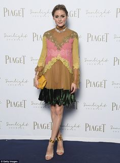 Olivia Palermo attends Piaget Sunlight Journey Collection Launch on June 13, 2017 in Rome Italy