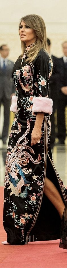First Lady Melania Trump in Gucci