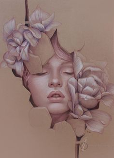 L'illustrazione a matita di Jennifer Healy | Inspire We Trust ★ Find more at http://www.pinterest.com/competing/