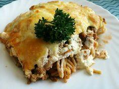 Bolognai rakott tészta Spanakopita, Bologna, Health, Ethnic Recipes, Food, Health Care, Essen, Meals, Yemek