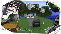 Minecraft Space Astronomy Ep05 - Finalmente Energia Tinker Hammer generatore E Quest A Nastro