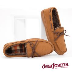 2d5f4453202 The Dearfoams Slipper Weekly Giveawayis LIVE WIN this Pair of Men s  Microsuede Moccasins