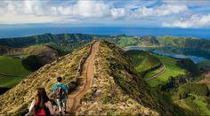 Google+ Lagoa e Caldeira das Sete Cidades, Ilha de São Miguel, Açores, Portugal