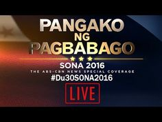 LIVE: President Rodrigo Duterte - State Of The Nation Address (SONA) 2016