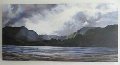 Huia Bay, NZ Acrylic on canvas