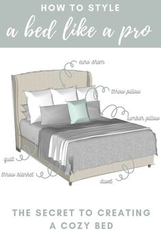 How to Style a Bed With a Duvet