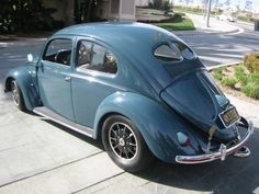 Beautiful early split window VW Beetle