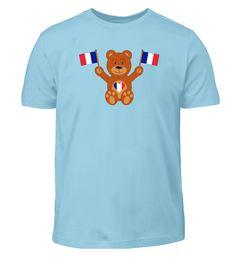 Teddybär Frankreich Flagge T-Shirt Mens Tops, Fashion, France Flag, Clothing Apparel, Moda, Fashion Styles, Fasion