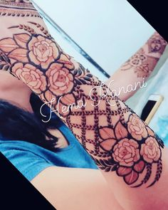 Pin For Trend Presented Gorgeous Henna Designs For Beautiful Girls - Henna Tattoo Images 2019 - 2020 (Latest Henna Ideas And Images) Khafif Mehndi Design, Floral Henna Designs, Modern Mehndi Designs, Dulhan Mehndi Designs, Mehndi Design Pictures, Wedding Mehndi Designs, Mehndi Designs For Fingers, Latest Mehndi Designs, Henna Tattoo Designs