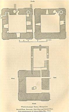 Wattlesborough Tower, Shropshire 2 - Wattlesborough Castle - Wikipedia, the free encyclopedia