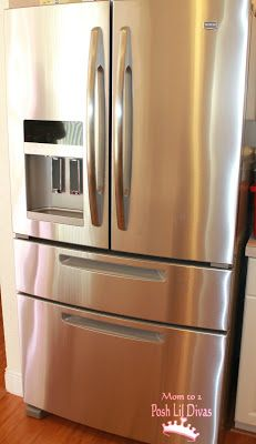 What's your fave kitchen appliance? Ours is definitely our refrigerator. I LOVE my Maytag Ice20 French Door Refrigerator! So much space & lots of great features.