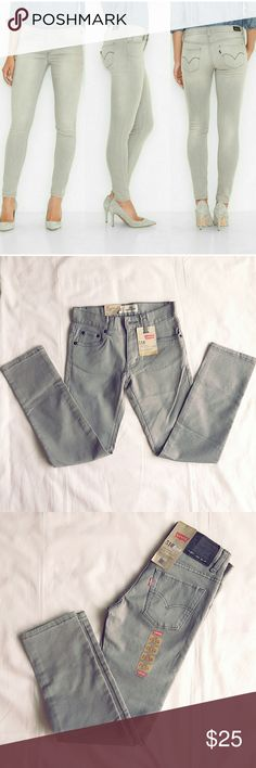 ⬇Today Only⬇Levi's super skinny jeans 510 super skinny fit Sidewalk. 10 REG 25x25, super skinny stretch. Sits below waist. Super skinny fit, skinny leg. Actual color is darker than the cover picture (for style purpose only). Best viewed in last 3 pictures. Levi's Jeans Skinny