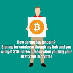Give a friend the gift of free crypto Invite a friend to Coinbase and you'll both receive $10 in free Bitcoin when they buy or sell their first $100 on Coinbase! Buy Bitcoin, Bitcoin Price, Father's Day Specials, Bitcoin Mining, Blockchain, Cryptocurrency, Online Business, Infographic, Investing