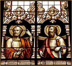 Wednesday, 24 August 2016 : Feast of St. Ascension Of Jesus, Happy Feast Day, St Peter And Paul, Catholic Saints, St Joseph, Religious Art, Stained Glass Windows, Christian Faith, Our Lady