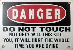 Best Sign Ever funny jokes lol funny sayings humor funny pictures funny signs Funny Warning Signs, Funny Road Signs, Funny Safety Slogans, Safety Quotes, Mafia, Funny Jokes, Hilarious, It's Funny, Someecards Funny
