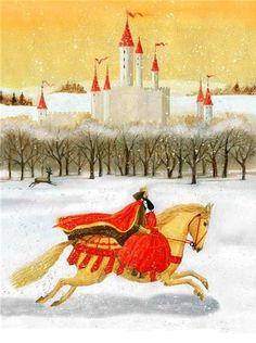 Snow White and the Seven Dwarfs byMaria Mikhalskaya