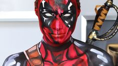 Deadpool Makeup Tutorial/Cosplay How To (Marvel)