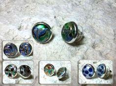 Pendientes cristal de Murano.