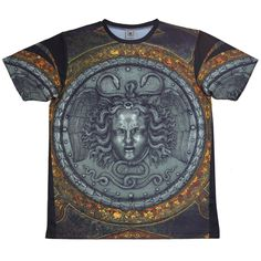 The Cxx Eye of Mercy Polyester Crewneck T-Shirt Cool Things To Buy, Mens Fashion, Eyes, Mens Tops, T Shirt, Clothes, Space, Link, Hot