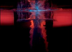 Bill VIOLA, 'Fire Angel from Five Angels for the Millennium' 2001, five-channel colour video projection with stereo sound for each projection.  I once saw the work in Centre Pompidou, Paris. Loved it, it's a truly magical masterpiece by video-artist Bill Viola.
