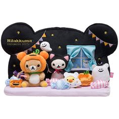 Limited edition Rilakkuma for 2014 Halloween ☆〜(ゝ。∂)