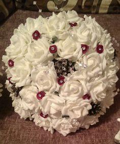 Flowers pinecone theme
