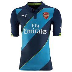 Camisetas del Arsenal 2014-2015 Tercera Arsenal Football Shirt 5dc07232a412b
