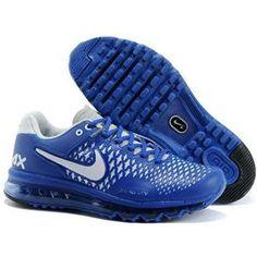 http://www.asneakers4u.com/ Nike Air Max 2014 Mens Shoes in Dim Blue