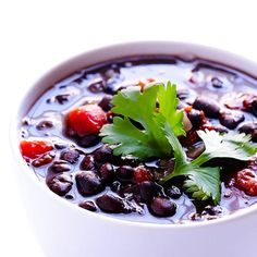 Five-Ingredient Black Bean Soup http://www.eatclean.com/recipes-how-to/healthy-lunches-to-eat-all-week/8-five-ingredient-black-bean-soup