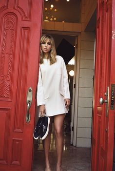 Suki Waterhouse Kicks Up Her Heels for Superga Spring 2014 Campaign