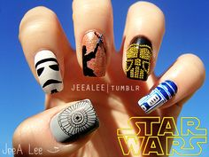 Disney nail designs | Disney Nail Art Manicures You Have to See to Believe |