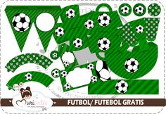 Soccer Free Printable Kit. - Is it for PARTIES? Is it FREE? Is it CUTE? Has QUALITY? It´s HERE! Oh My Fiesta! Soccer Kits, Soccer Party, Free Printables, Playing Cards, Hs Football, Free Printable, Celebrations, Fiestas, Weddings