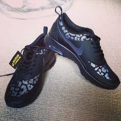Leopard Nike's<3