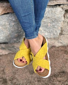 Yellow 🍋 @shepherdofsweden Birkenstock, Madrid, Sandals, Yellow, Inspiration, Shoes, Fashion, Shoes Sandals, Biblical Inspiration