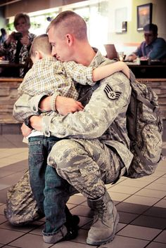 Welcome Home Military Airport Photo
