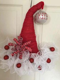 Best 12 – Page 423479171209352033 – SkillOfKing.Com – SkillOfKing.Com Christmas Tree Wreath, Etsy Christmas, Christmas Hat, Holiday Wreaths, Holiday Ornaments, Christmas Tree Decorations, Wreath Crafts, Diy Wreath, Christmas Projects