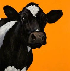 … and the Cow Jumped over the Moon by Paul Bell. Oil on linen.