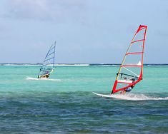 I want to try windsurfing