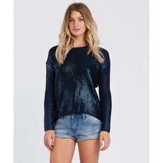 Get free shipping at the Billabong online store.  The Future Jams sweater mixes spectacle with sparkle as its all-over foil print brilliantly captures the crowd's attention.