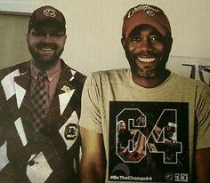 Thanks for cheering, Robert (and Darius)! #BeTheChange64