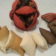 zimzima Montessori fait main balle de préhension coussins sensoriels mobile de Gobbi