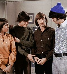 The Monkees facepalming Peter GIF